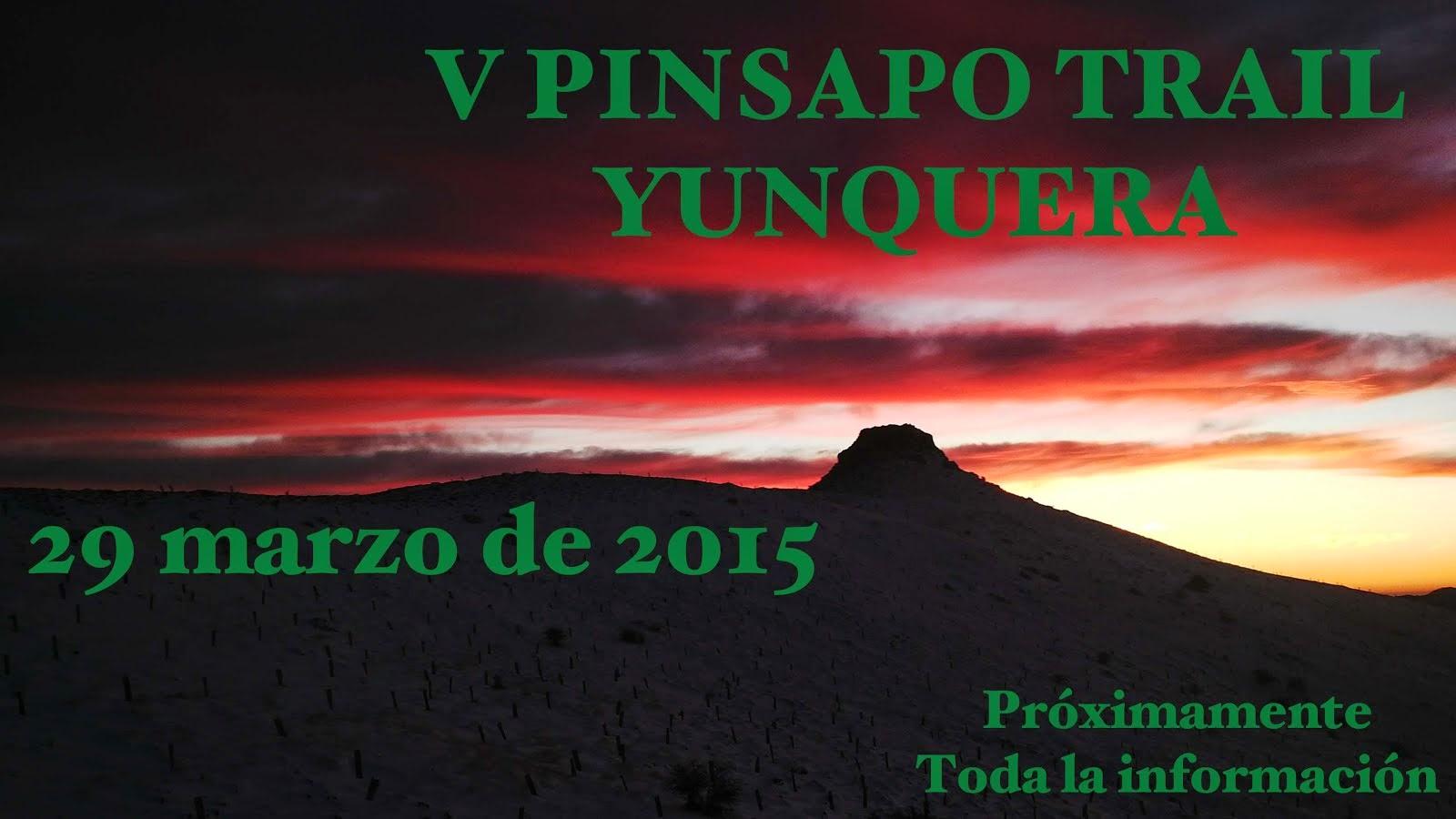 CXM PINSAPO TRAIL 2015