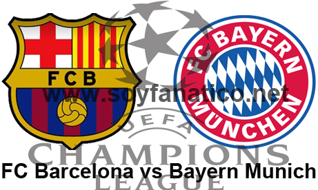 Barcelona vs Bayern Munich Semifinal Champions League 2015