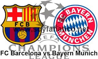 Vuelta Barcelona vs Bayern Munich 12 de Mayo 2015