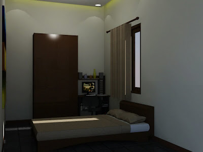 Simple Bedroom Interior