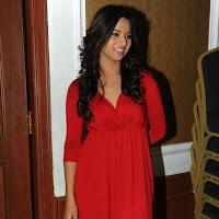 Superb & loving Isha chawla latest hot stills in red dress