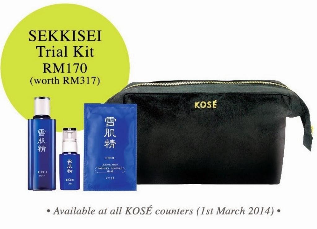 Sekkisei Trial Set, KOSE, SEKKISEI Lotion Mask, SEKKISEI Lotion, KOSE SEKKISEI, KOSE Lotion, Sekkisei, review