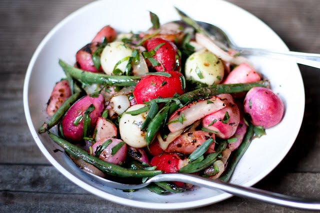 grilled radishes with tarragon vinaigrette oven roasted radishes with ...