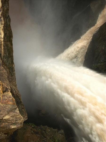 Cascada Boca del Diablo, Jog Falls, Karnataka, India