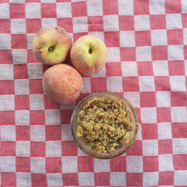 Recipe, Peach Crisp