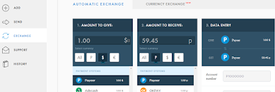 Exchange and withdraw Fiat currencies, Bitcoin cryptocurrency