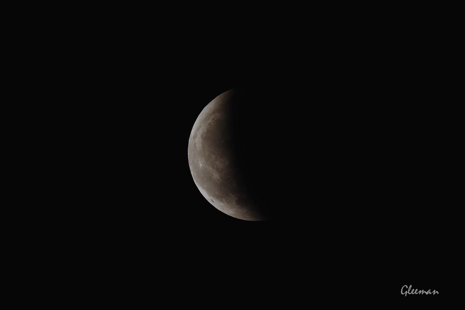 月全食與天王星衝 | Total lunar eclipse and Uranus opposition