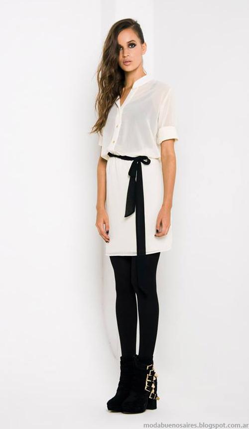 Doll Store moda vestidos cortos otoño invierno 2014.