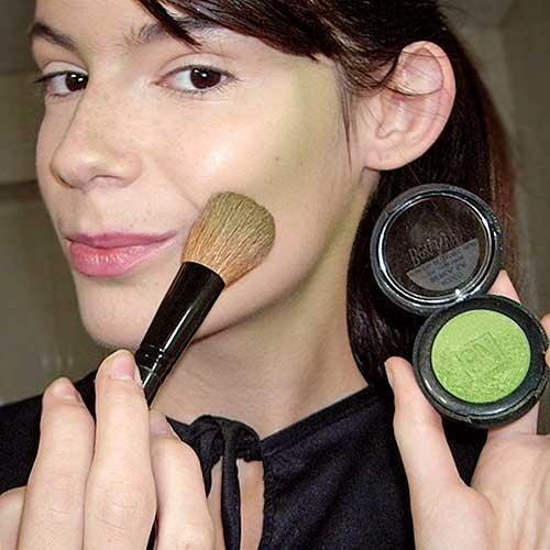 monika sanchez contouring para maquillaje de bruja en carnaval