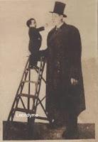 Armand Bronner met zijn tegenspeler Henry