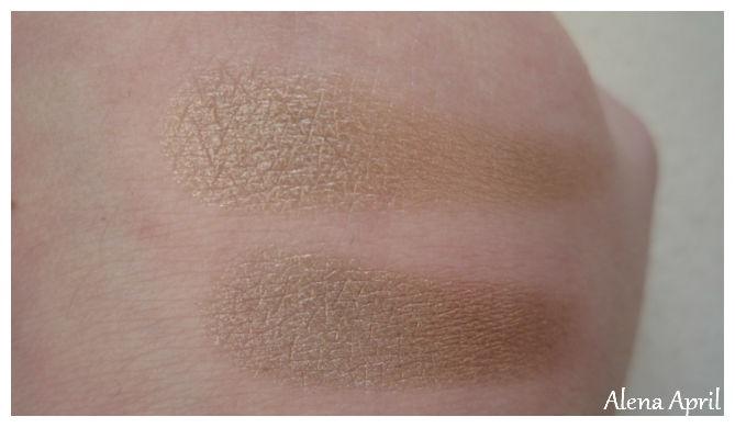 Lamel Professional Eyeshadow, тени Lamel Professional, оттенок №11, свотчи теней