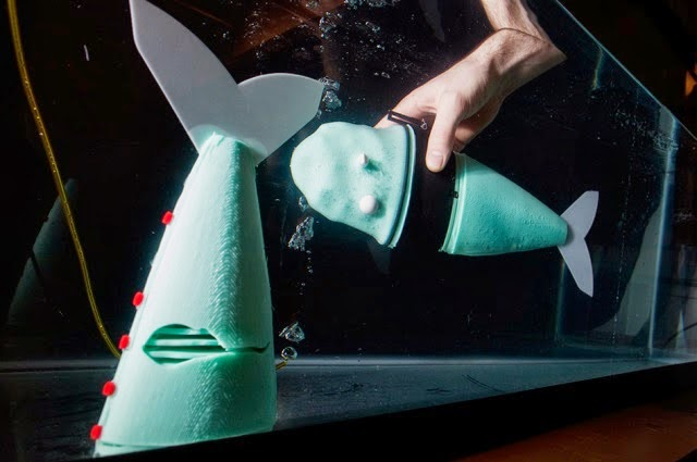 Soft robotic fish