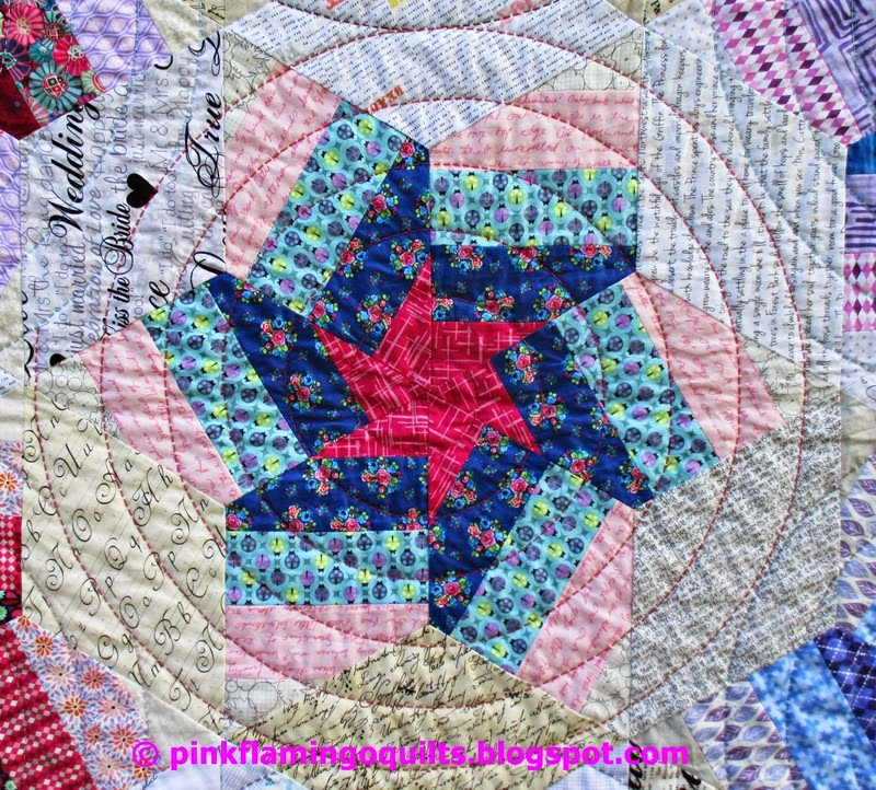 Pink Flamingo Quilts: Spinning Stars and Twinkling Stars: two patterns in one