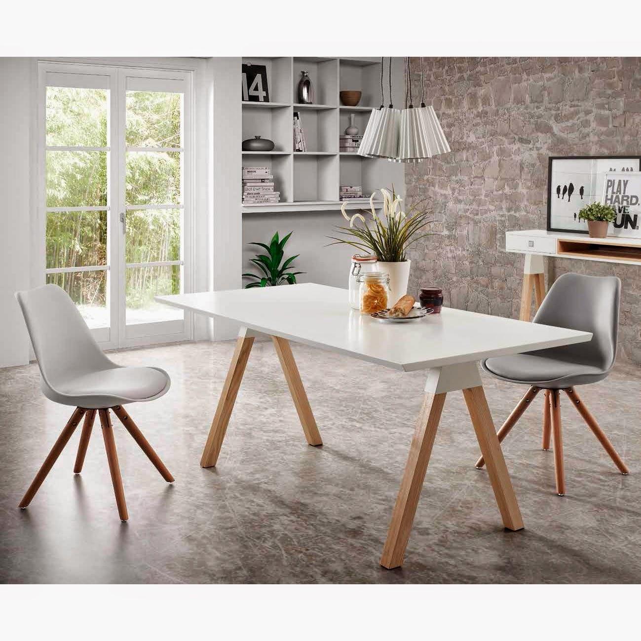 Muebles de comedor lamparas para renovar el comedor - Muebles estilo escandinavo ...