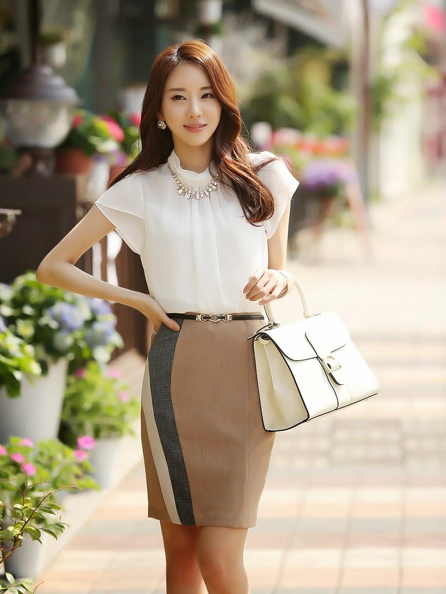 moda coreana 26 modelos de faldas para este 2014 mundo