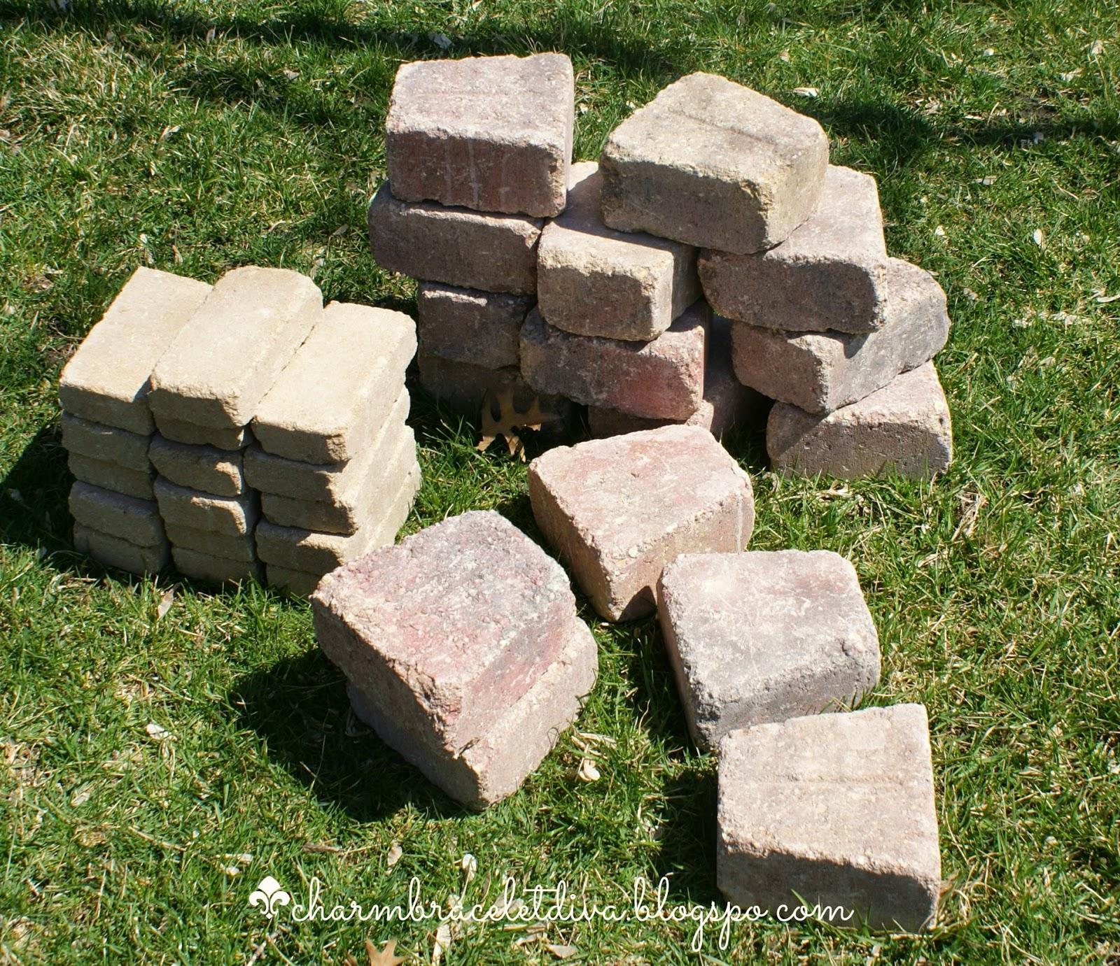 Belgian wedge blocks and Belgian small wall blocks