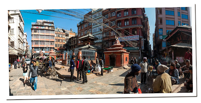 Square in Kathmandu