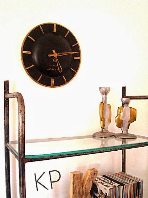 Decoración vintage, venta de relojes antiguos, reloj de pared original estilo clásico, con estilo, bonito, barato, a cuerda