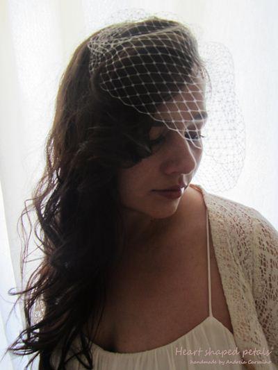 Birdcage veil vintage inspired