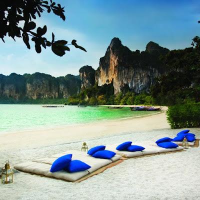 Hotel Rayavadee, Playa Railay en Tailandia. Dulces Sueños