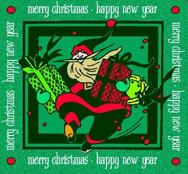 Božićne slike čestitke djed Mraz