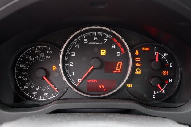2013 subaru brz first drive dashboard