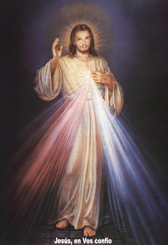 Oracion al Señor de la Divina Misericordia. Jesus en Ti
