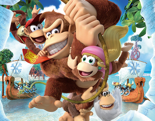 Cranky Kong in Donkey Kong Country Tropical Freeze