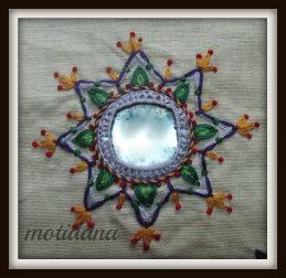 mirror work embroidery ,индийские вышивки