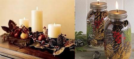 Adornos navide os para interior casas ideas - Adornos navidenos casa ...