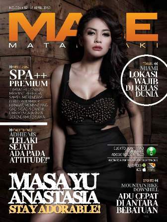 MALE Edisi 024 - Masayu Anastasia