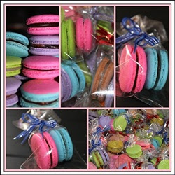 macaron door gift