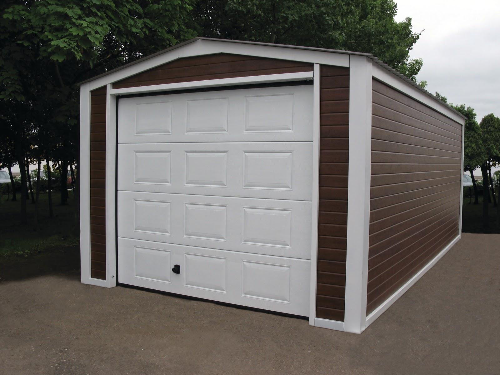 Diy garage or garden shed ryterna garage doors for Shed with garage door