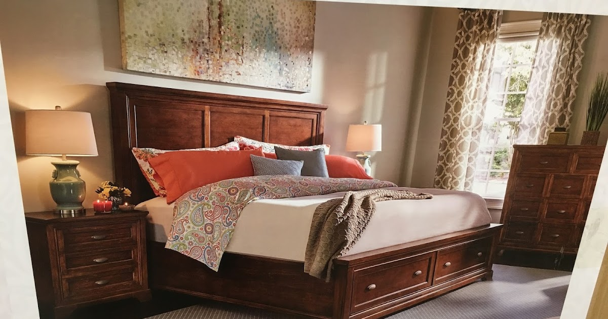 Universal Furniture Broadmore Queen Bed With Storage