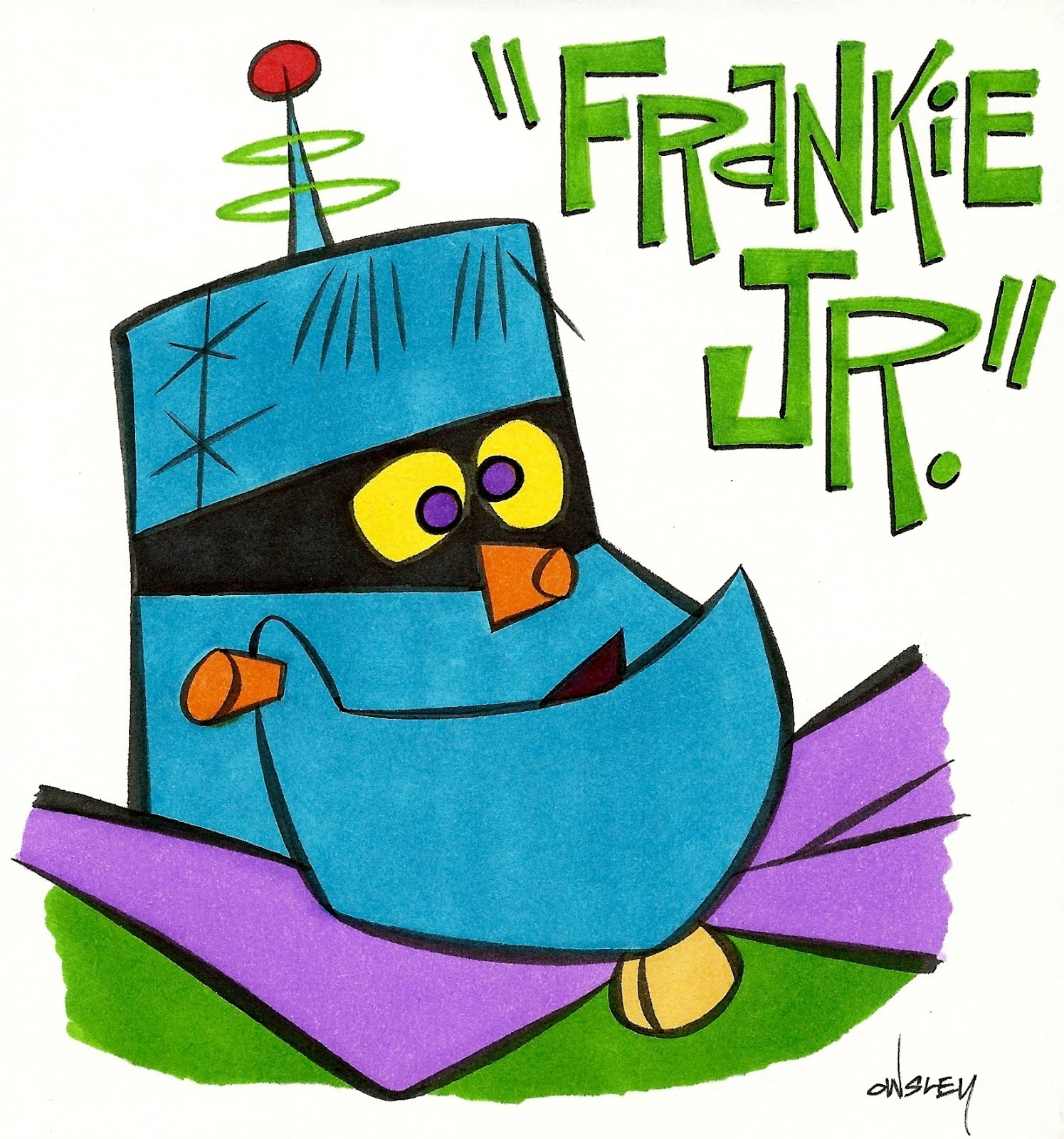 FRANKY JR!