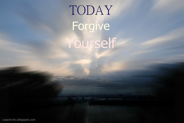beautiful sky forgive yourself banner