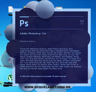 Instalação Adobe Photoshop CS6 Extended