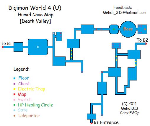 GAMES CHEAT: DIGIMON WORLD 4