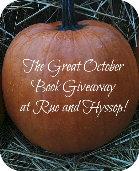 Great October Book Giveaway