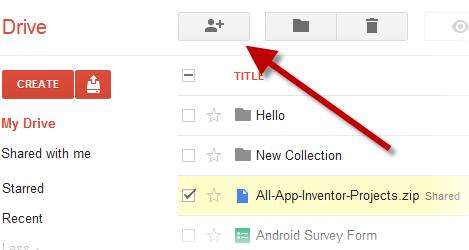 गूगल ड्राइव से फाइल कैसे बाँटें