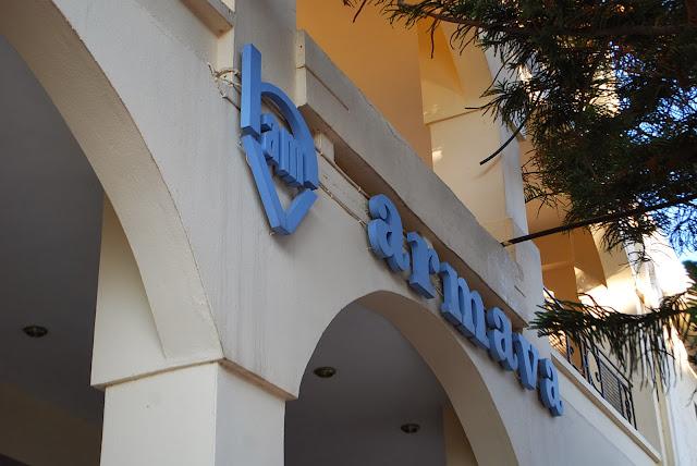 Armava hotel, Hersonissos, Crete. Отель Армава, Херсонисос, Крит.