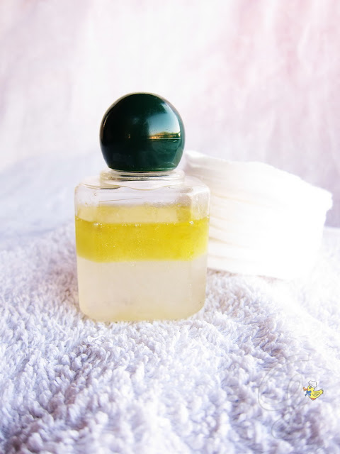 Olive oil and roses water makeup remover - struccante all'olio d'oliva e acqua di rose