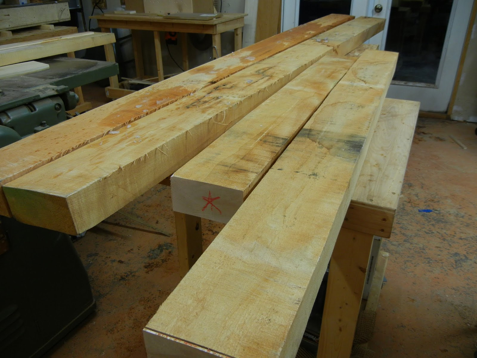 Tiger Maple and Regular Maple for chair parts