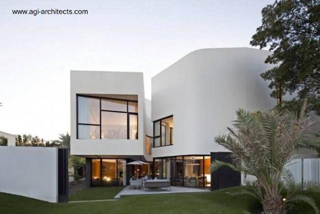 Casa residencial contemporánea en Kuwait