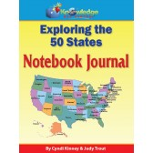 Exploring the 50 States Notebook Journal (Review)