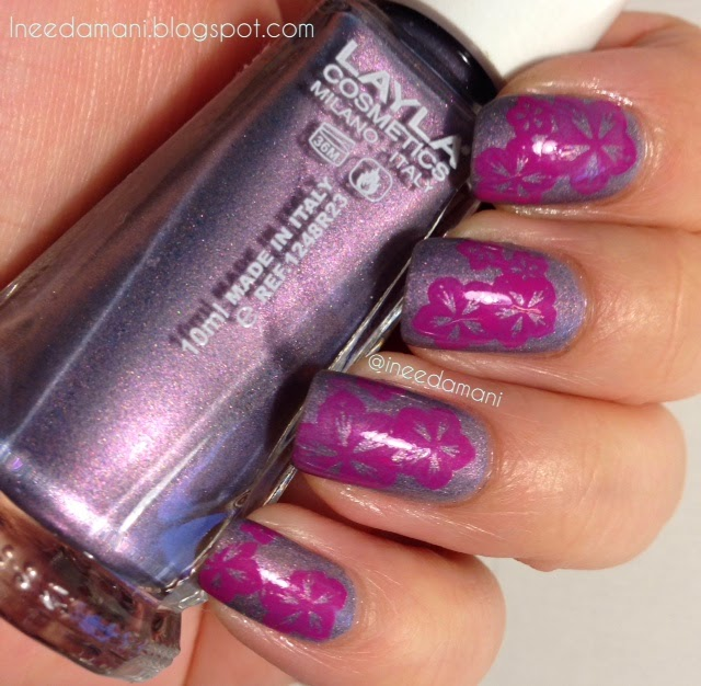 layla softouch effects #3 stone sakura nails