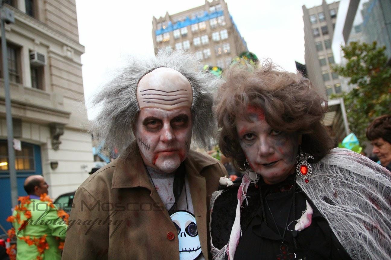 desfile de Halloween de la ciudad de Nueva York 2014