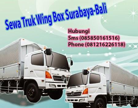 Sewa Truk Wing Box Surabaya-Bali