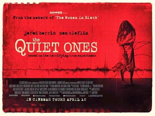 """Les recomendamos la cinta aun en cartelera """"The Quiet Ones"""" (Silencio del Más Allá) que trata el tema de los Poltergeist, supuestamente basada en hechos reales ."""