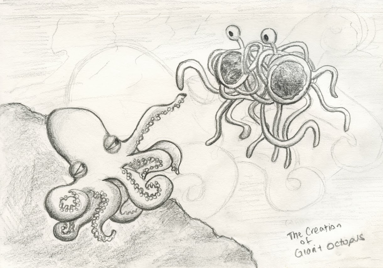 Sylvia Liu Land: A to Z Cephalopods: G for Giant Pacific Octopus